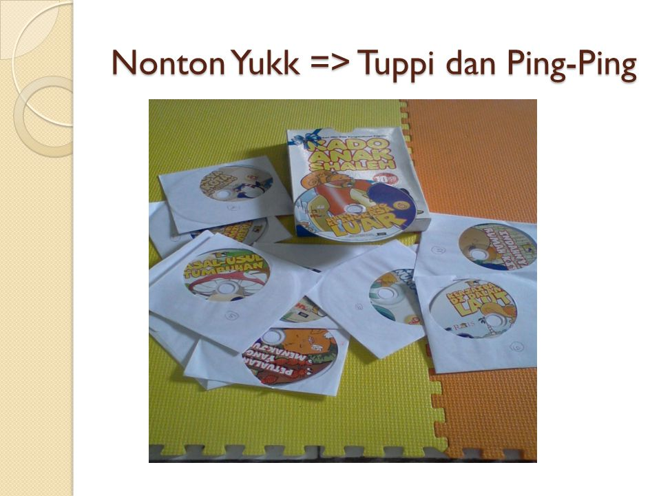 Nonton Yukk => Tuppi dan Ping-Ping