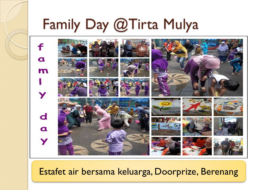 Family Day @Tirta Mulya