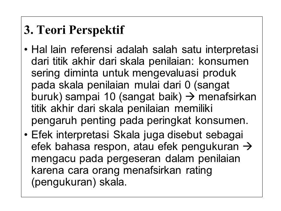 3. Teori Perspektif