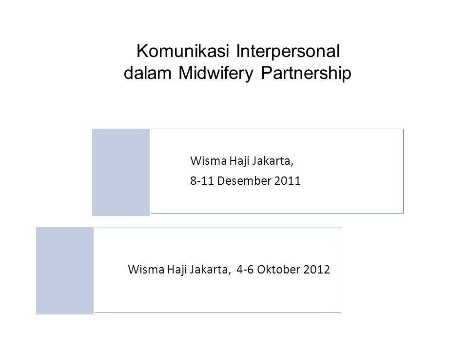 Komunikasi Interpersonal dalam Midwifery Partnership