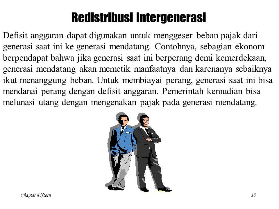 Redistribusi Intergenerasi