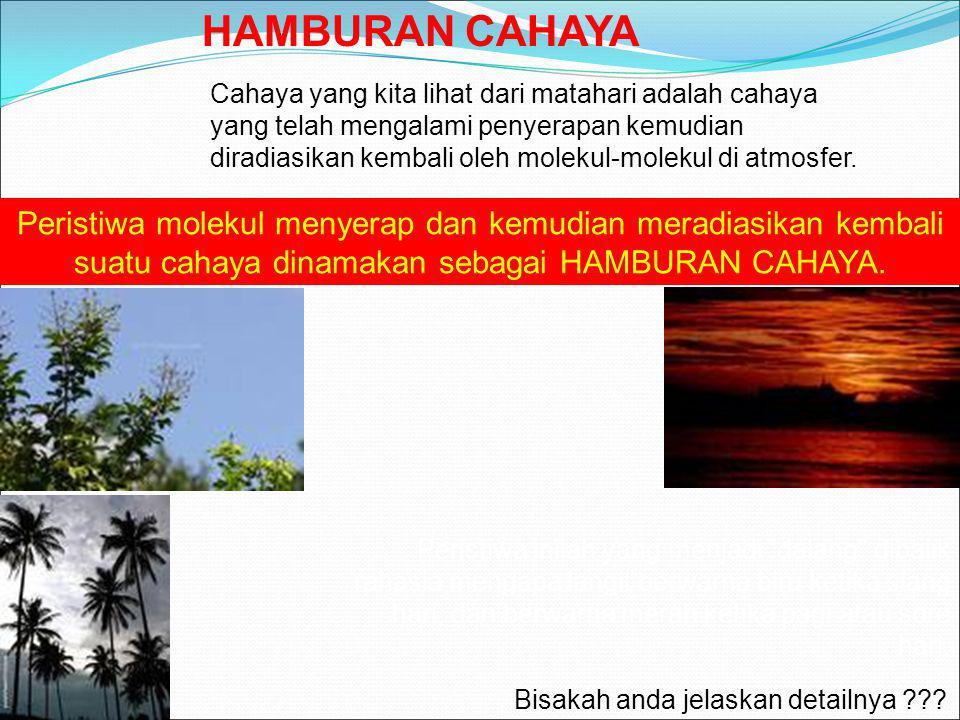 HAMBURAN CAHAYA