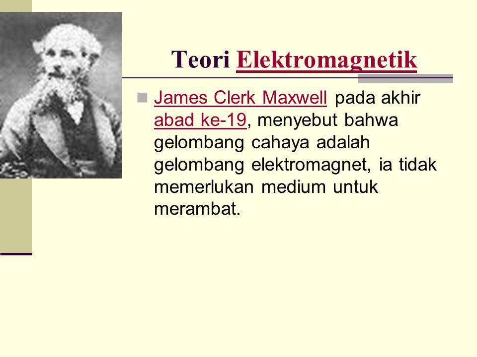 Teori Elektromagnetik