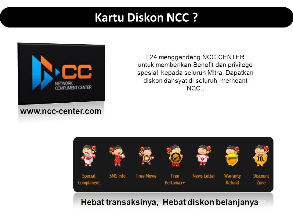 Kartu Diskon NCC www.ncc-center.com