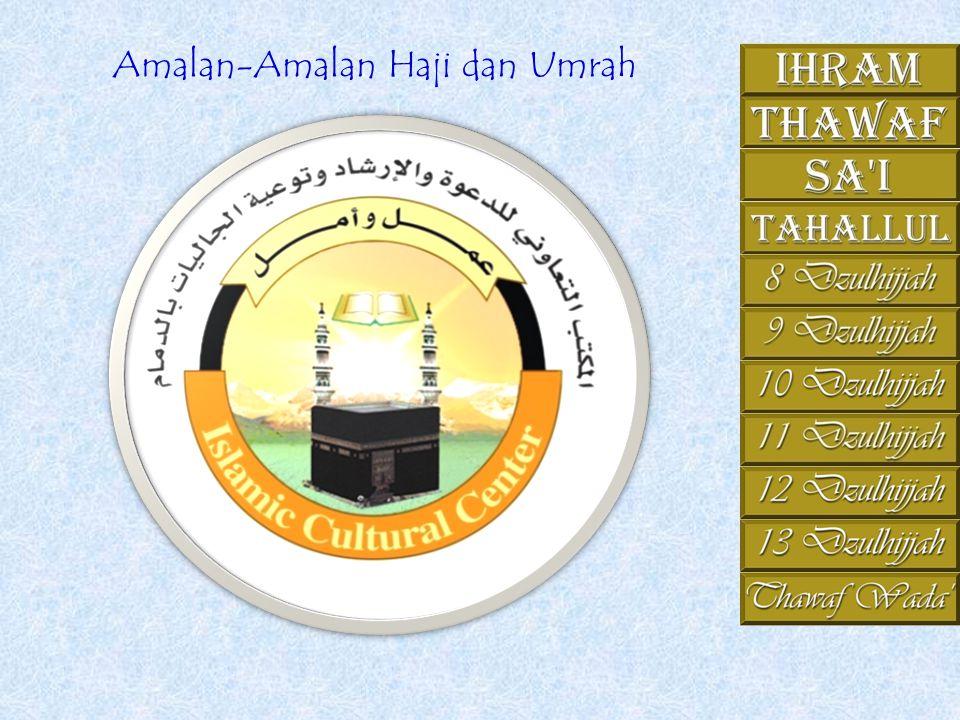 Amalan-Amalan Haji dan Umrah
