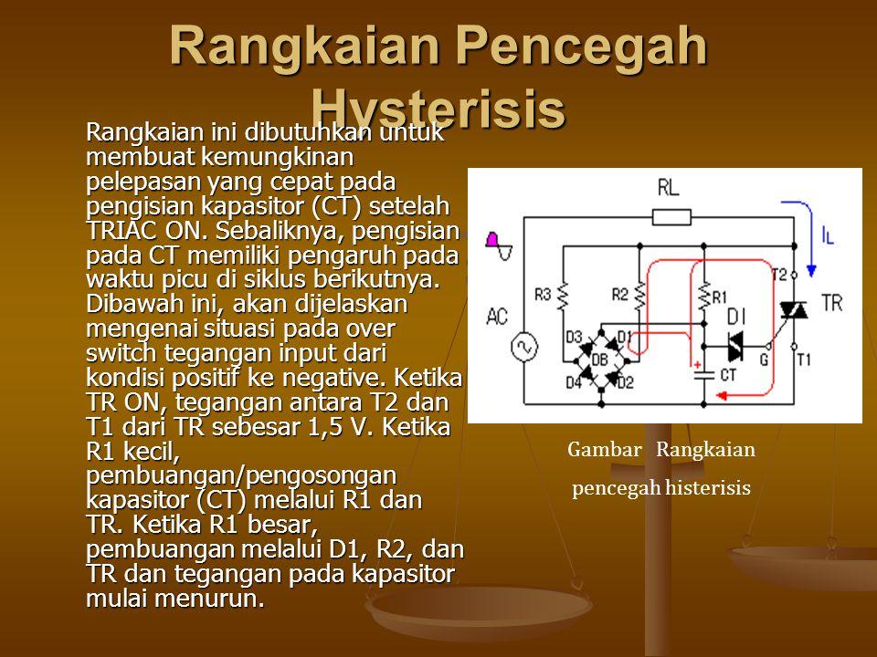 Rangkaian Pencegah Hysterisis