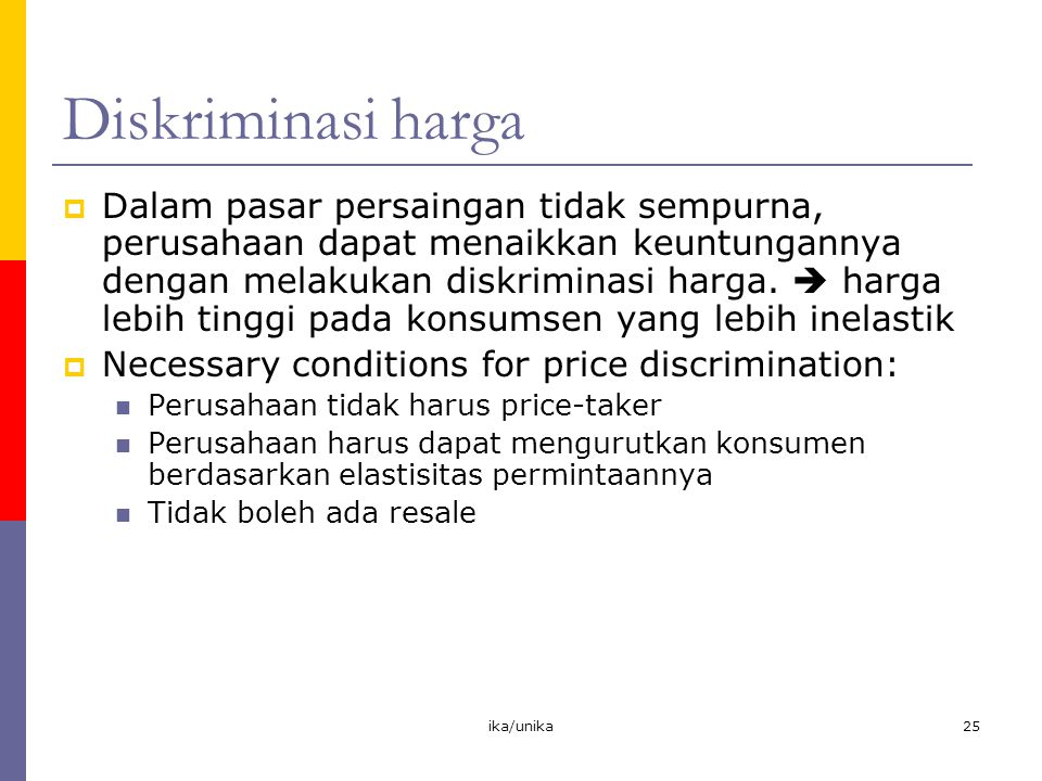 Diskriminasi harga