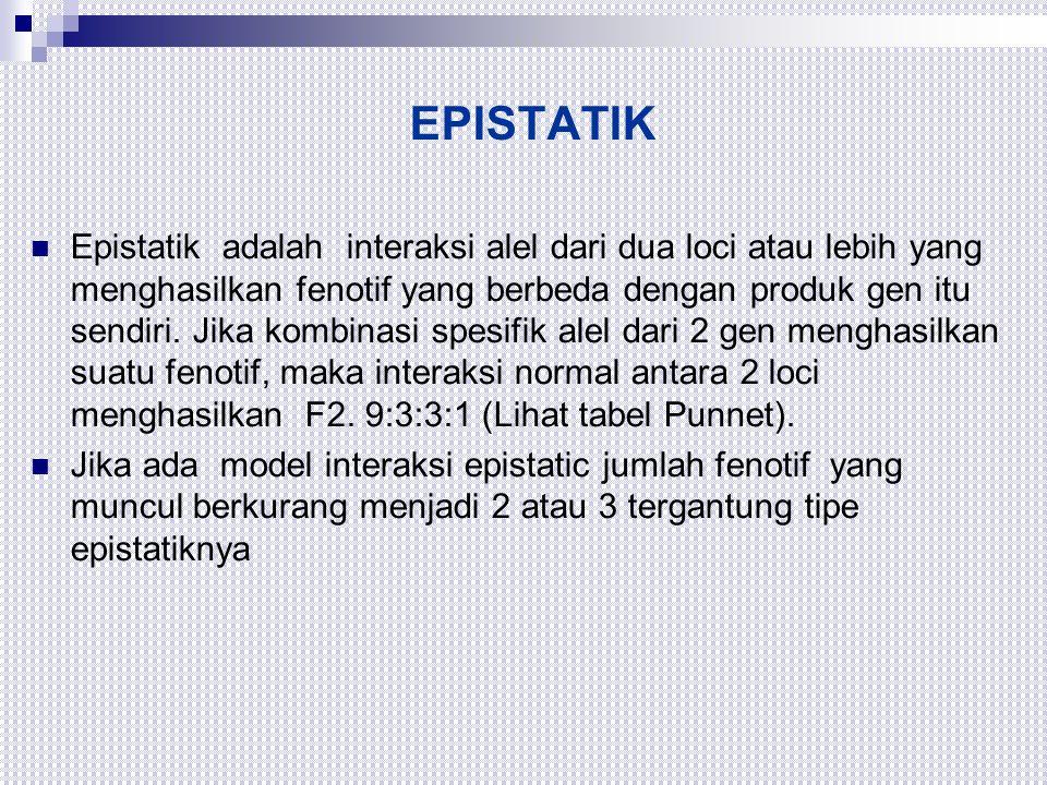 EPISTATIK