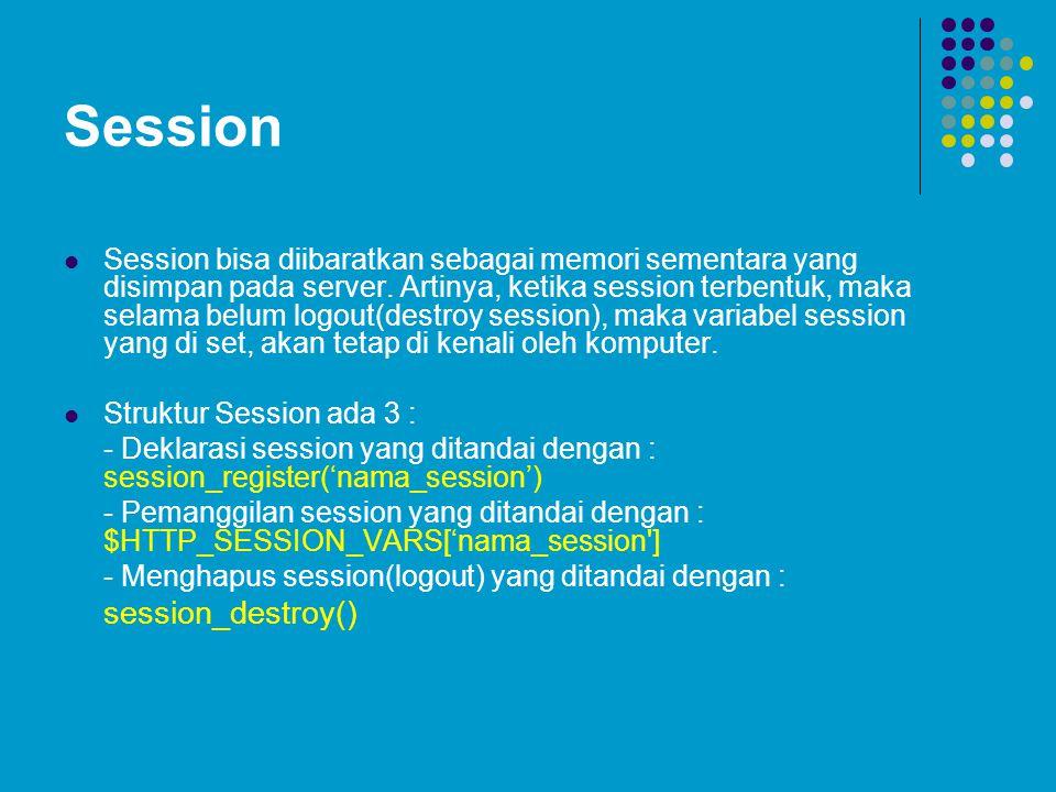 Session session_destroy()