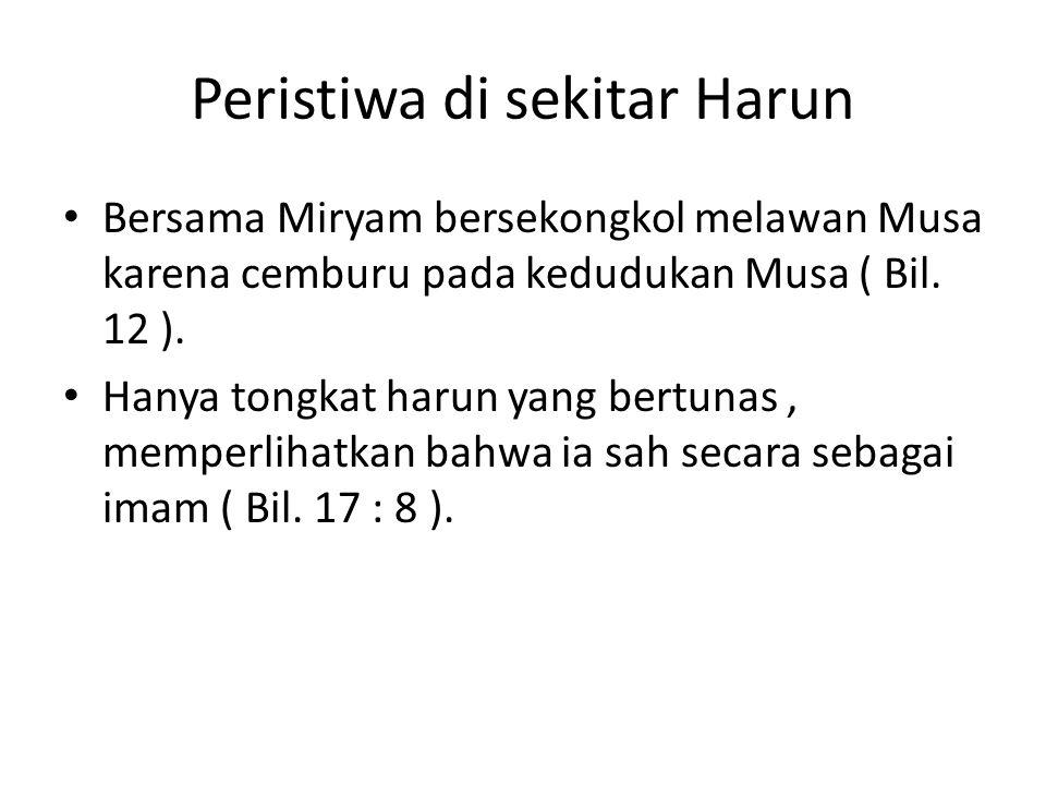 Peristiwa di sekitar Harun