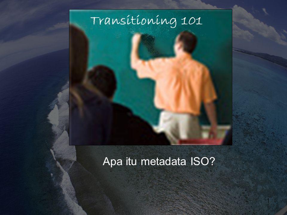 Apa itu metadata ISO