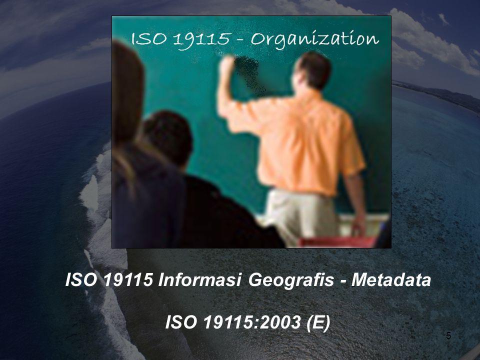 ISO 19115 Informasi Geografis - Metadata