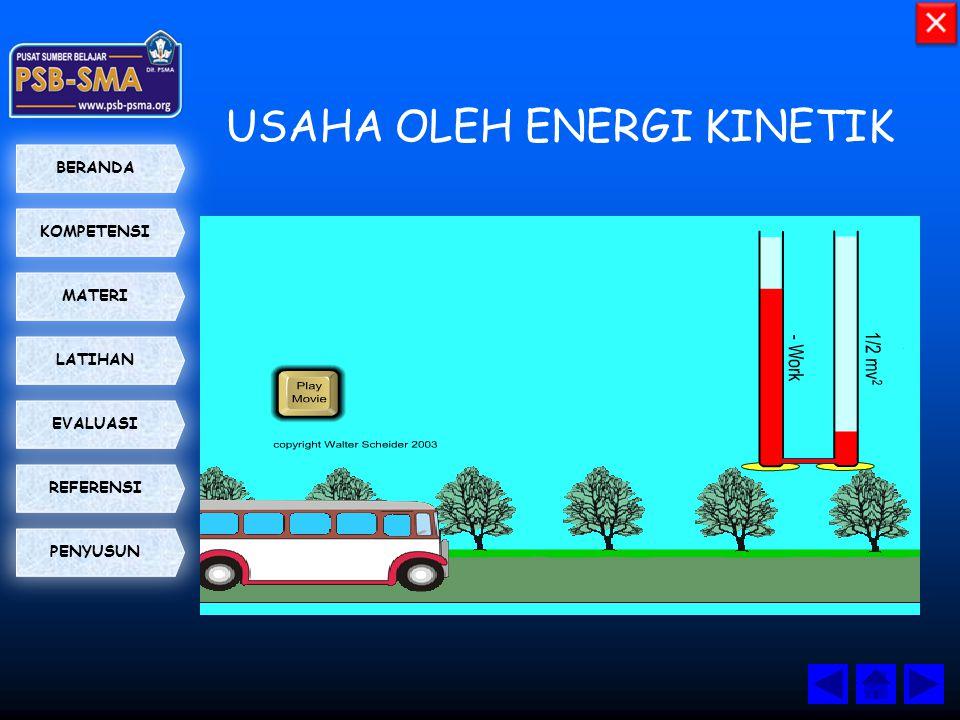 USAHA OLEH ENERGI KINETIK