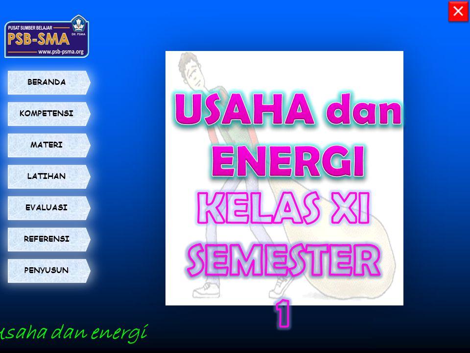 USAHA dan ENERGI KELAS XI SEMESTER 1