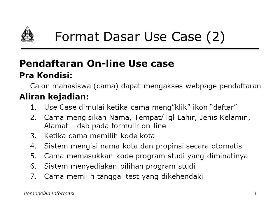 Format Dasar Use Case (2)