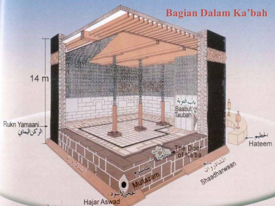 Bagian Dalam Ka'bah