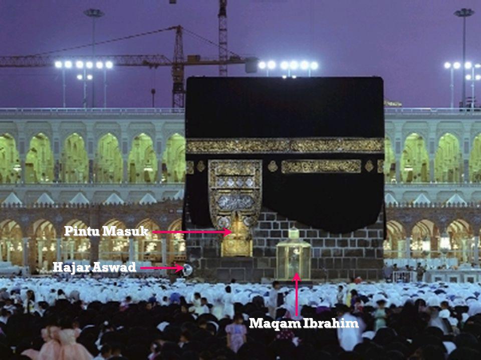 Pintu Masuk Hajar Aswad Maqam Ibrahim