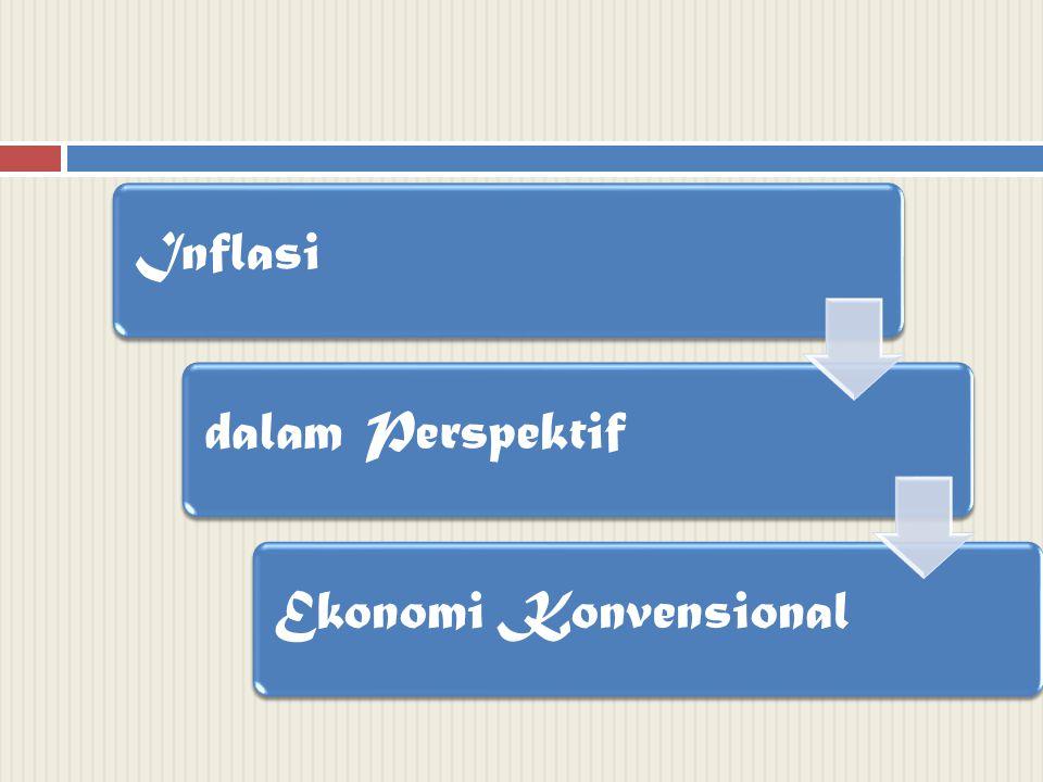 Inflasi dalam Perspektif Ekonomi Konvensional