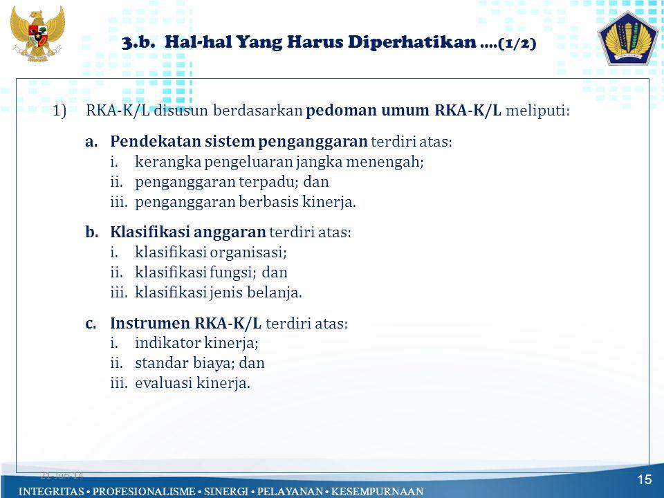3.b. Hal-hal Yang Harus Diperhatikan ….(1/2)