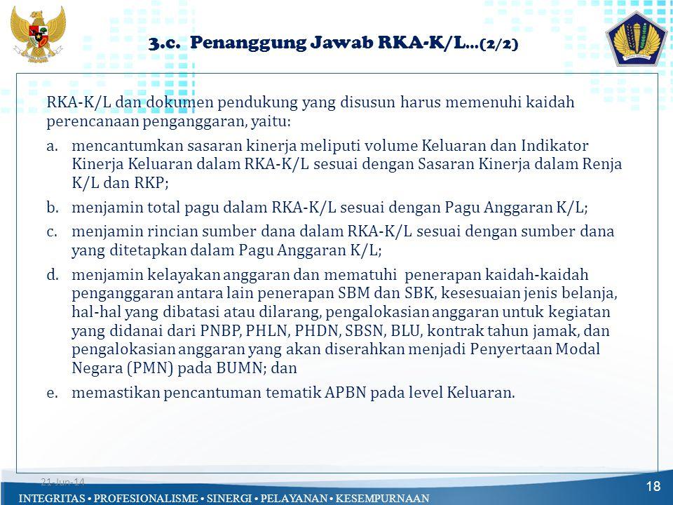 3.c. Penanggung Jawab RKA-K/L…(2/2)