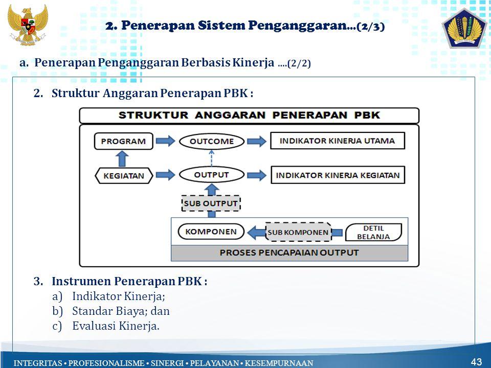 2. Penerapan Sistem Penganggaran...(2/3)
