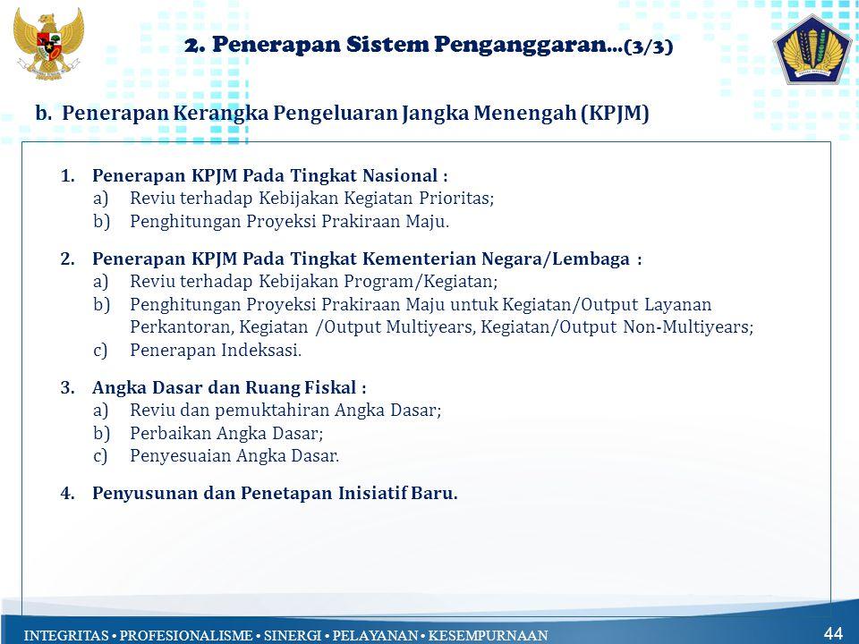 2. Penerapan Sistem Penganggaran...(3/3)