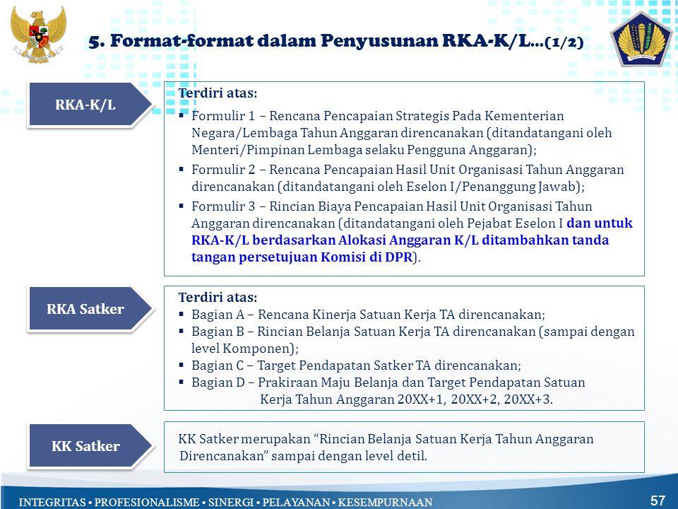 5. Format-format dalam Penyusunan RKA-K/L…(1/2)