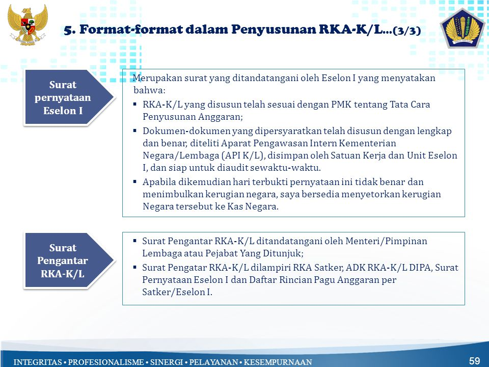5. Format-format dalam Penyusunan RKA-K/L…(3/3)