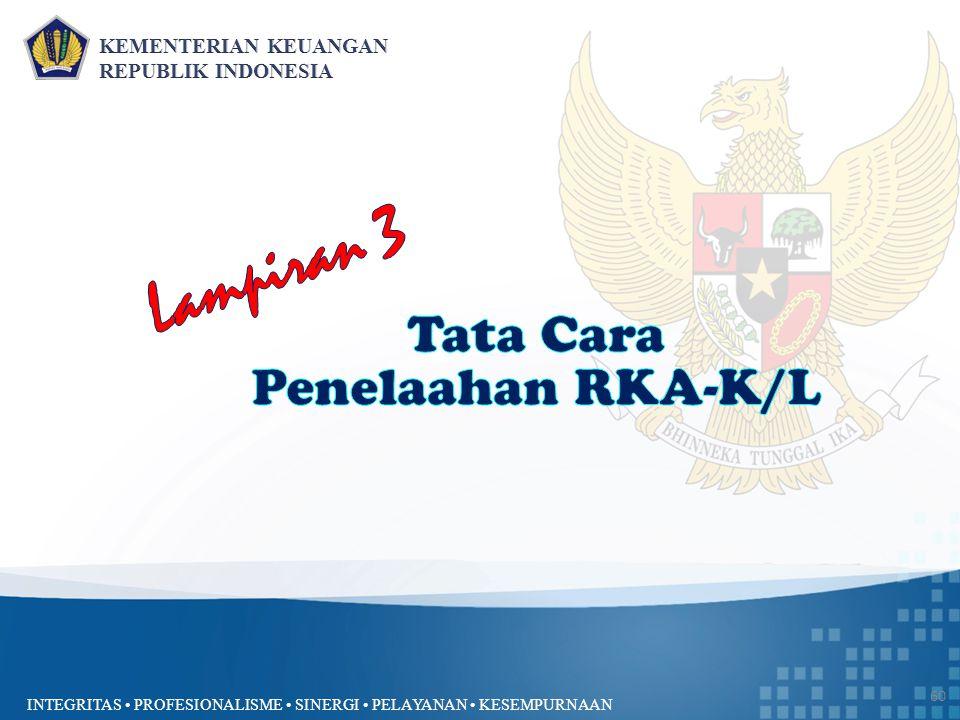 Lampiran 3 Tata Cara Penelaahan RKA-K/L