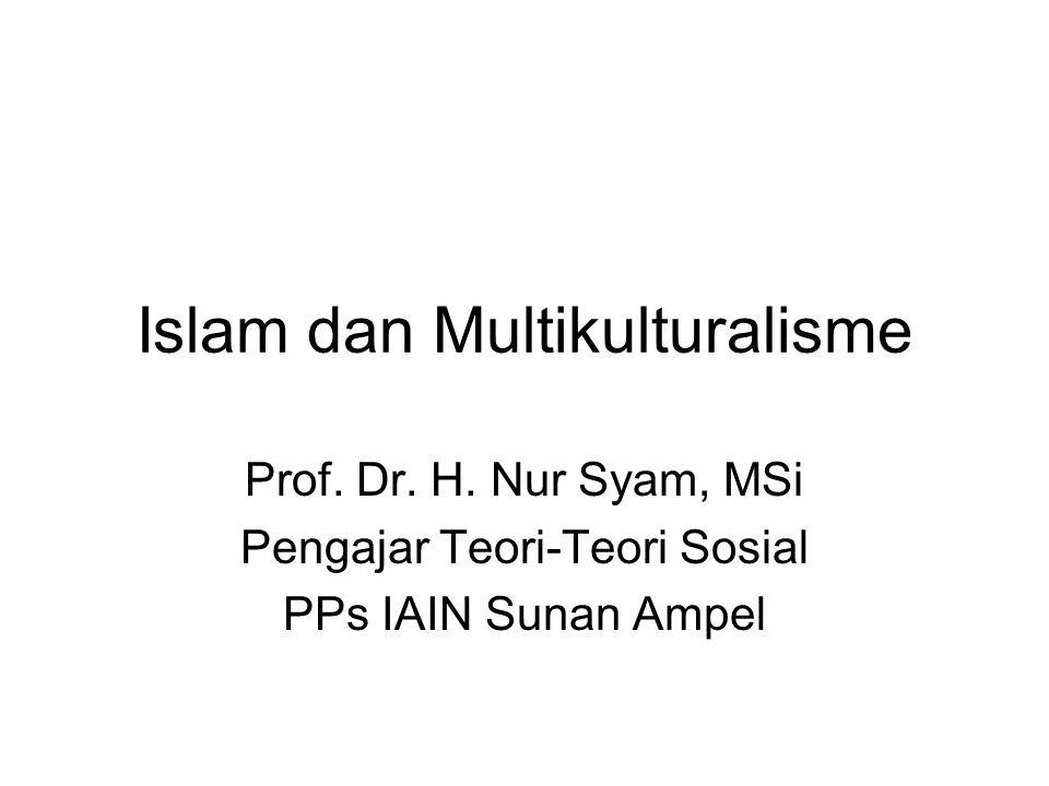 Islam dan Multikulturalisme