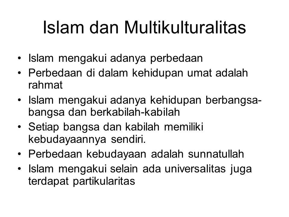 Islam dan Multikulturalitas
