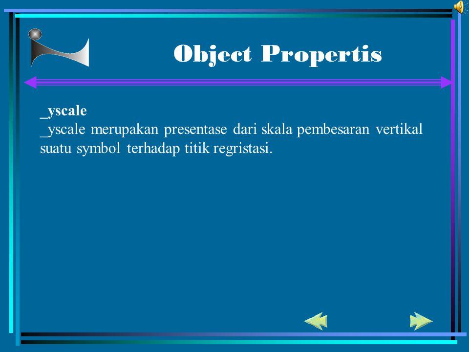 Object Propertis _yscale