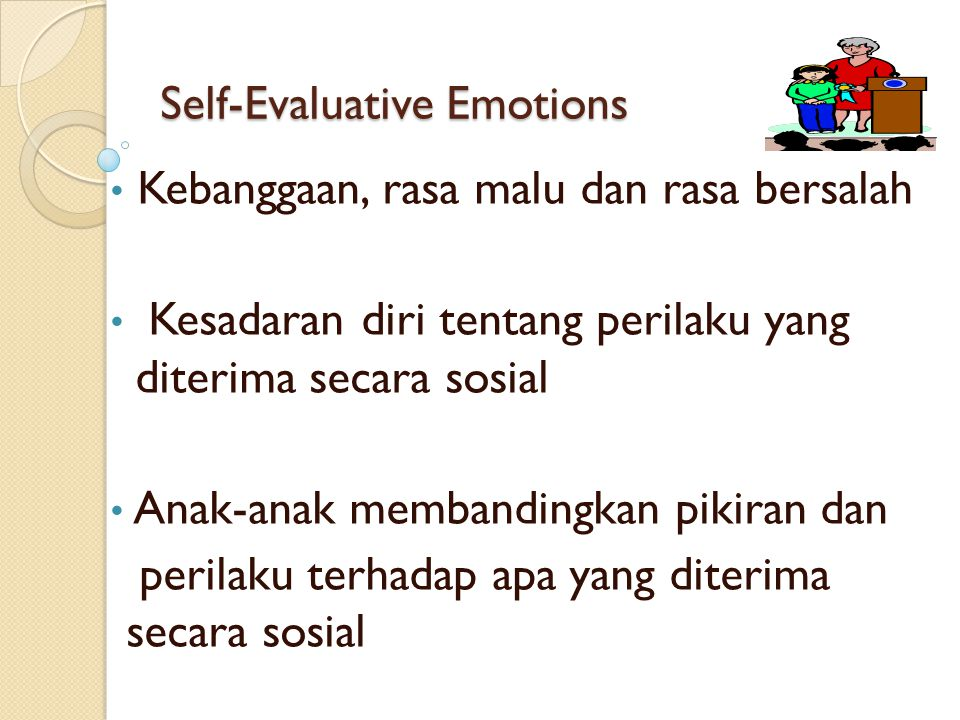 Self-Evaluative Emotions