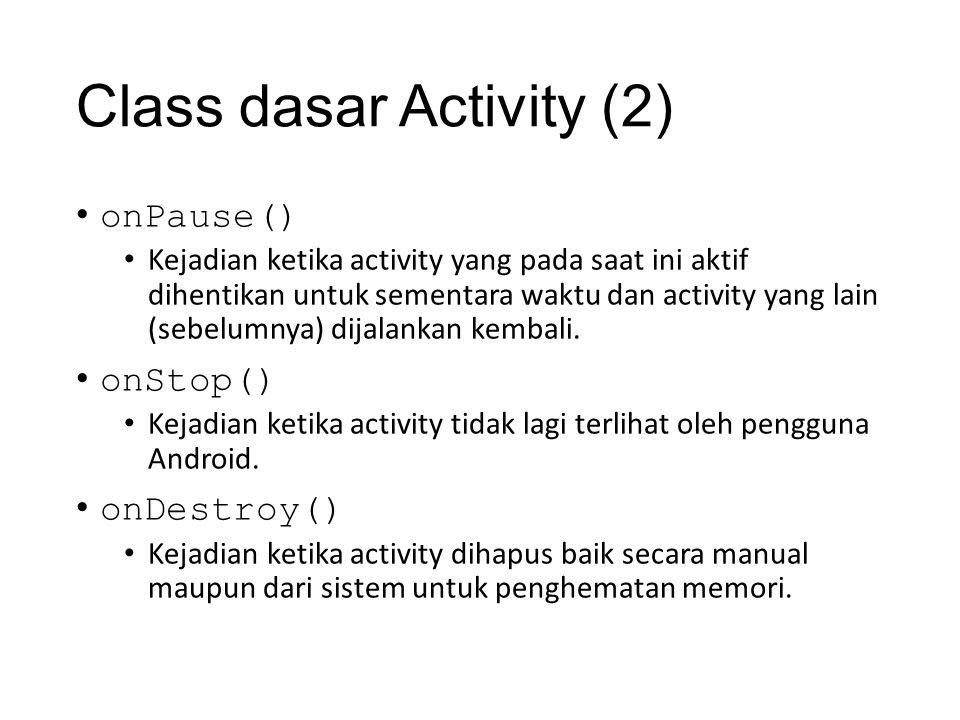 Class dasar Activity (2)