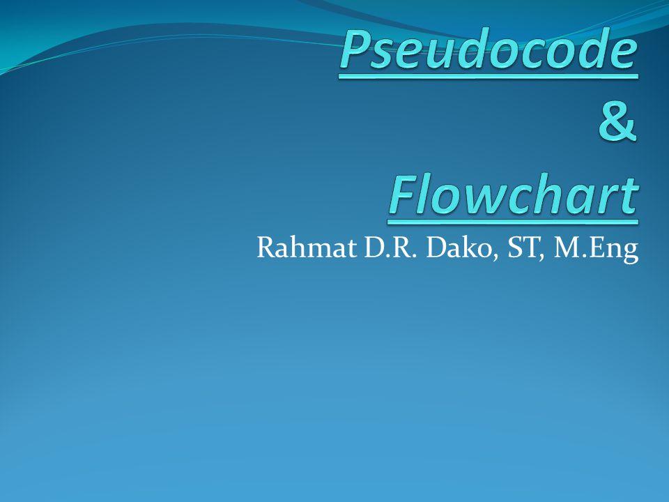 Pseudocode & Flowchart