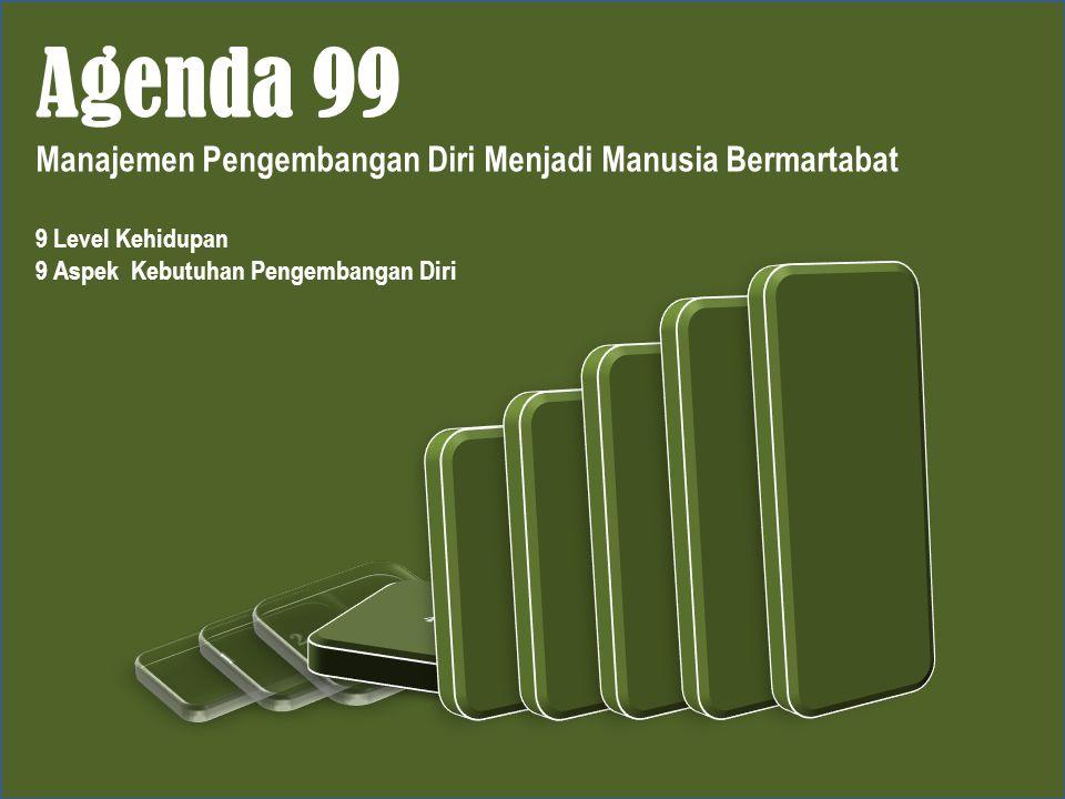 Agenda 99 Manajemen Pengembangan Diri Menjadi Manusia Bermartabat