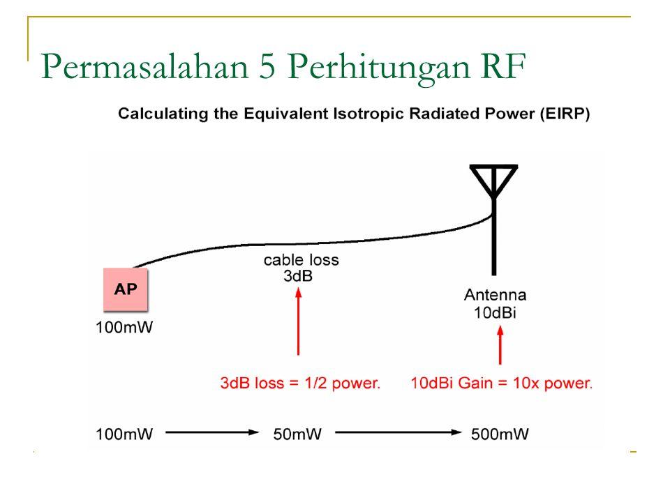 Permasalahan 5 Perhitungan RF