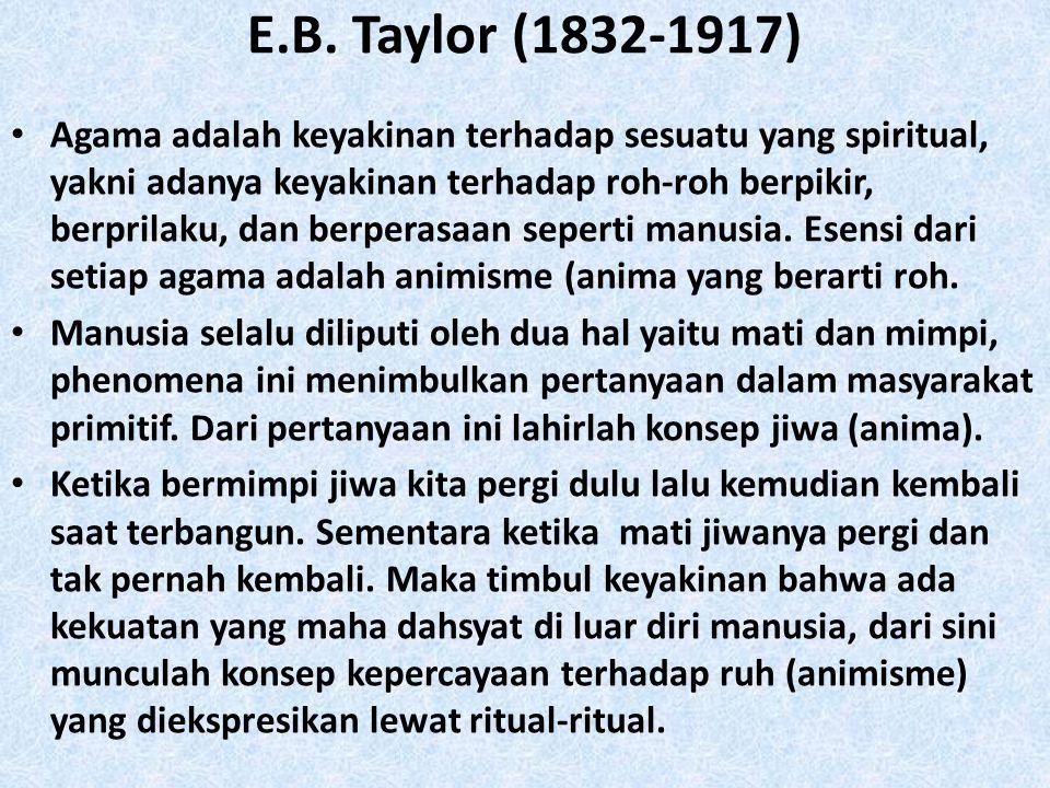 E.B. Taylor (1832-1917)