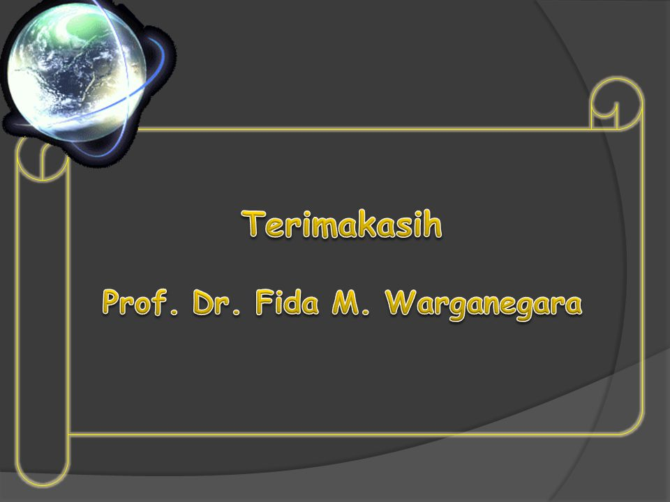 Prof. Dr. Fida M. Warganegara