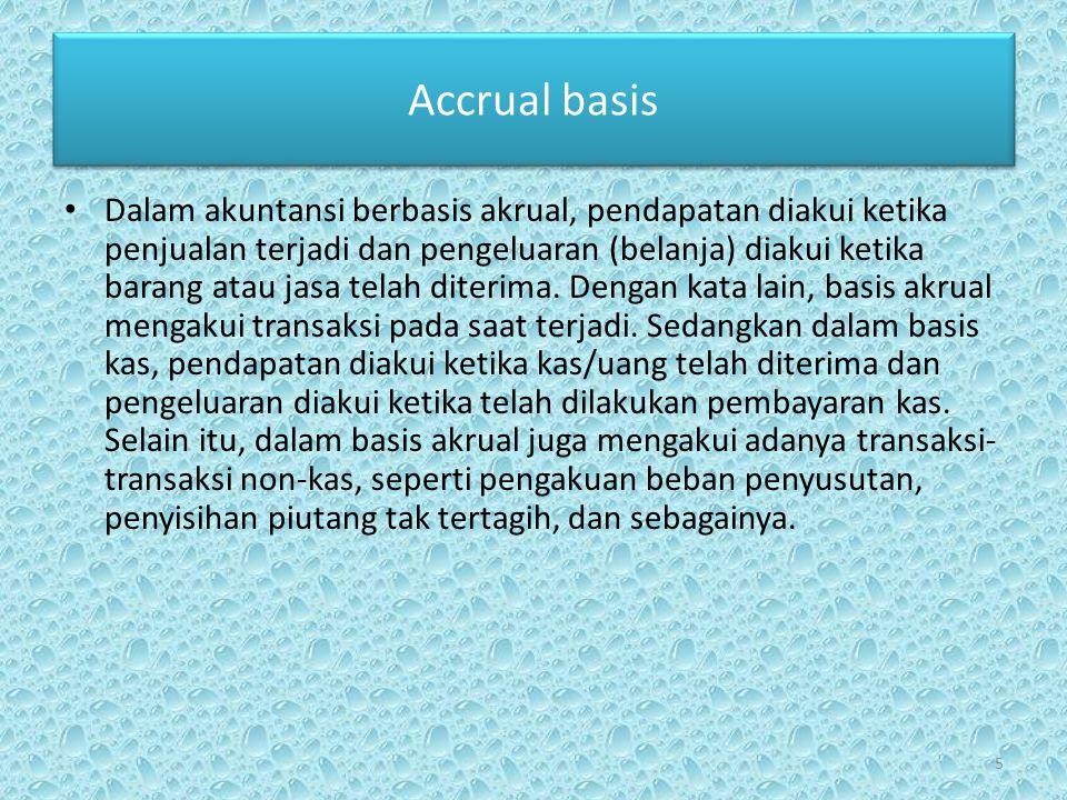 Accrual basis