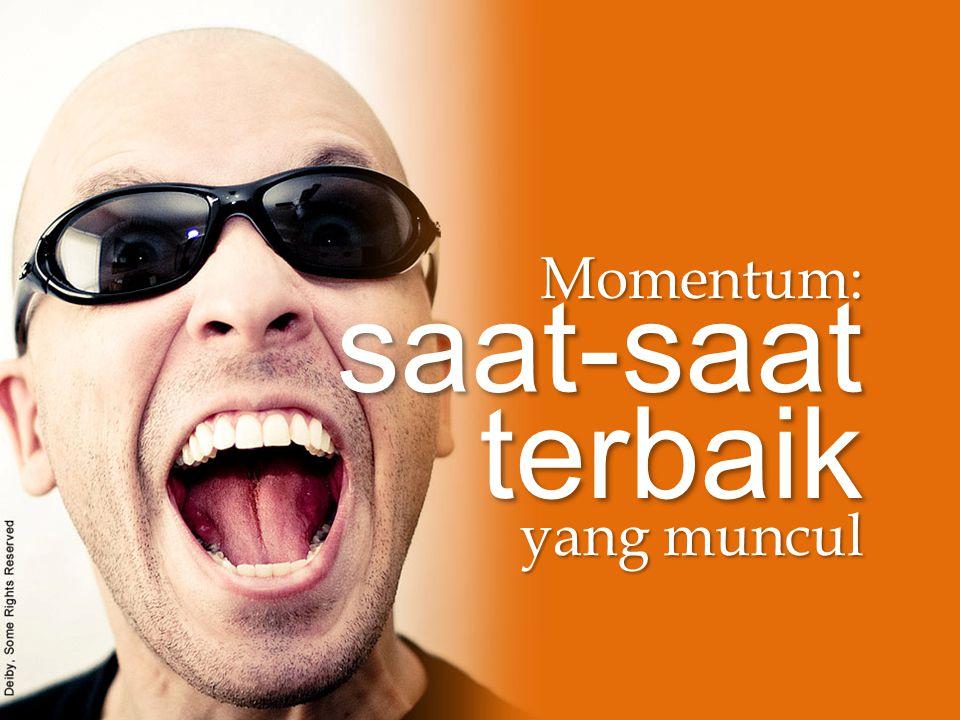 Momentum: saat-saat terbaik yang muncul