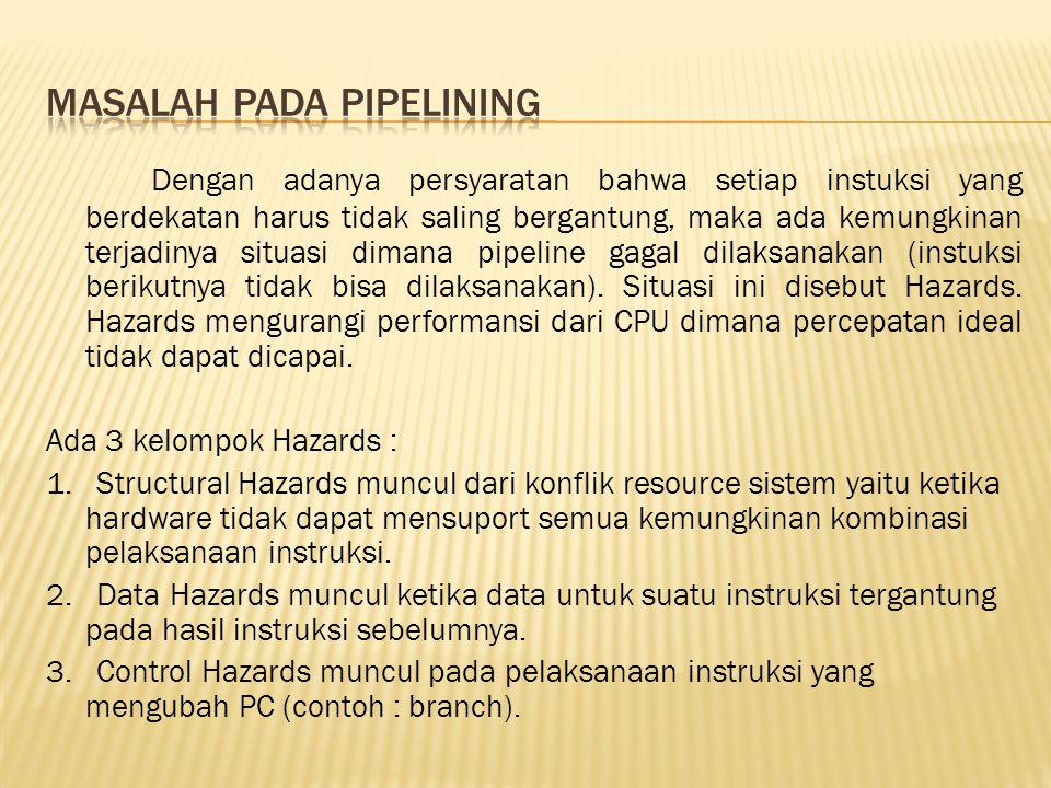 Masalah pada pipelining