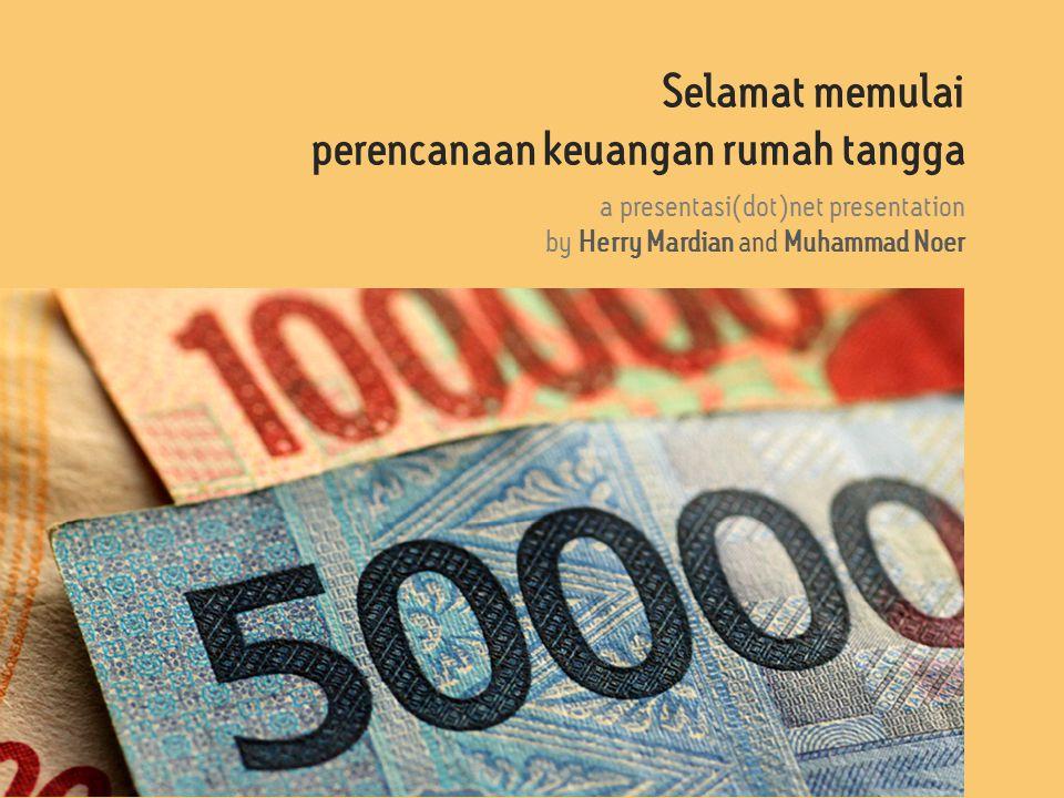 perencanaan keuangan rumah tangga