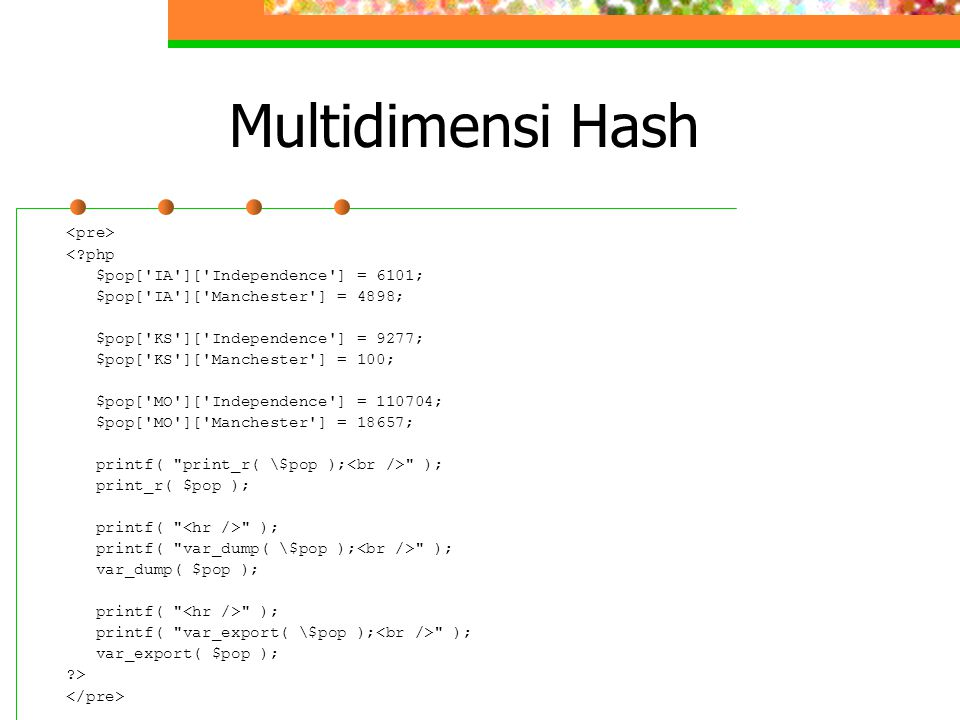 Multidimensi Hash