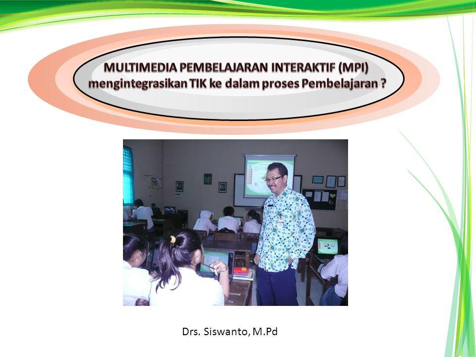 MULTIMEDIA PEMBELAJARAN INTERAKTIF (MPI)