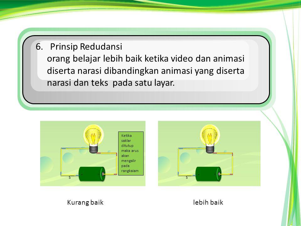 6. Prinsip Redudansi