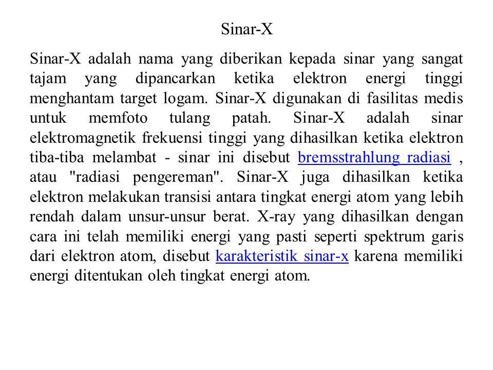 Sinar-X