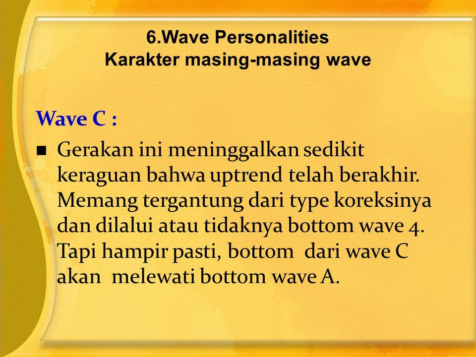 6.Wave Personalities Karakter masing-masing wave