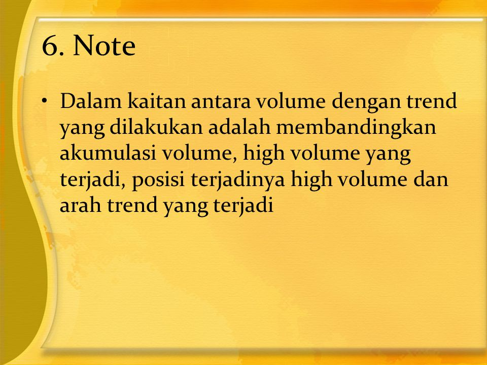 6. Note