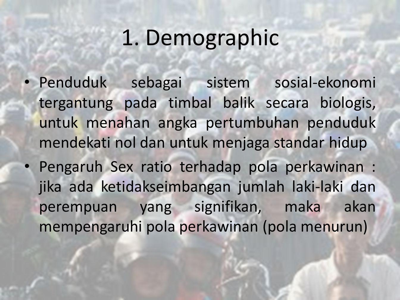 1. Demographic